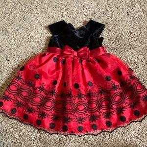 Sweet Heart Rose Holiday Dress